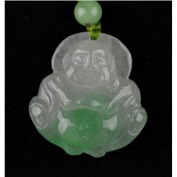 3PCS Chinese Jade Pendants Buddha & Two Discs