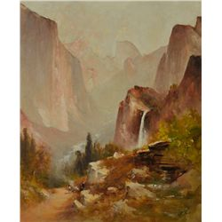 Thomas Hill - Yosemite View