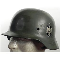NAZI M40 DOUBLE DECAL HELMET