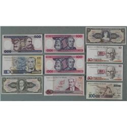 10 Crisp Uncirculated Brazil Paper Money