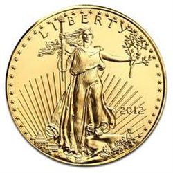 2012 GOLD AMERICAN EAGLE $5 DOLLAR 1/10oz *HIGH GRADE* GOLD EAGLE CAME OUT OF SAFE BOX!!