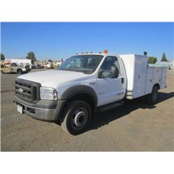 2006 Ford F550XL Super Duty Lube Truck