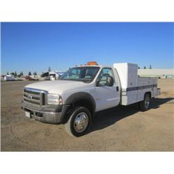 2006 Ford F450 Service Truck
