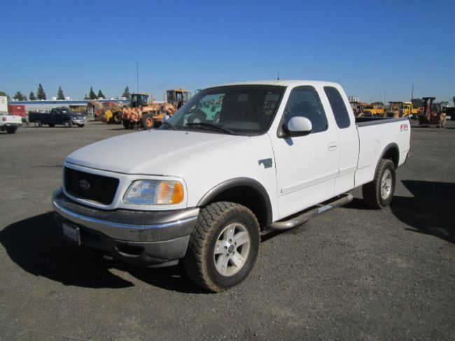 2002 Ford F150 4x4 Supercab Pickup Truck