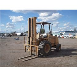 1986 Case 585E Rough Terrain Forklift