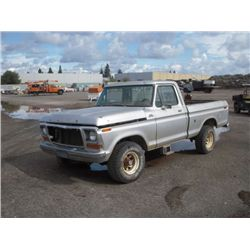 1978 Ford F150 Custom 4x4 Pickup Truck