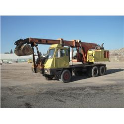 Koehring Cranes 4470 T/A Wheeled Excavator