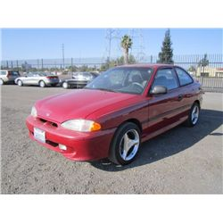1997 Hyundai Accent Hatchback Coupe