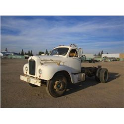 1955 Mack B61 S/A Cab & Chassis