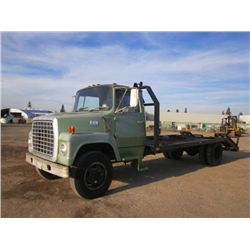 1973 Ford 700 S/A Flat Bed Truck
