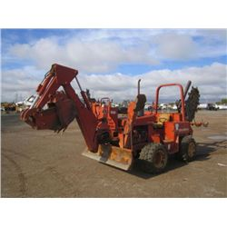 Ditch Witch 5110DD Ride On Trencher Backhoe