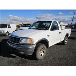 2002 Ford F150 XL 4x4 Pickup Truck