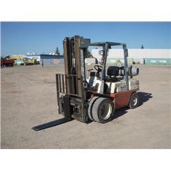 Nissan 60 Warehouse Forklift
