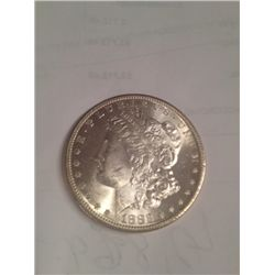 1883-O BU MS-63 MORGAN SILVER DOLLAR