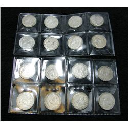 16-Nazi Germany Various Date 2 Mark Silver Coins