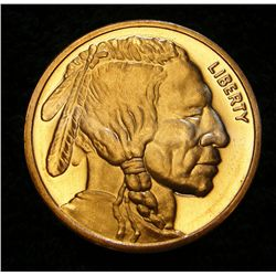 2011 Indian Head Liberty 1 ADVP Ounce .999 Fine Copper