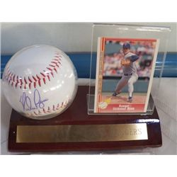 Signed Nolan Ryan Autographed Ball With Certificate of Authenticity