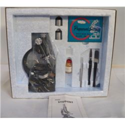 """Student Microscope in box Box has all supplies & book appro n box 14"""" x 12"""" x H 5"""""""