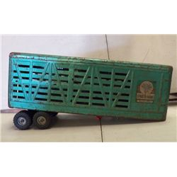 """Structo Cattle Hauler green approx 18"""" x 5.5"""" x H 9"""""""