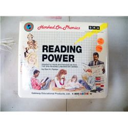 Hooked On Phonics Reading Power Complete Tapes & Books