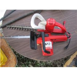 Electric Hedger/Chain Saw