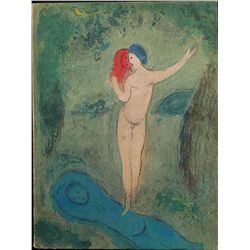 Daphnis and Chloe  Illustrated by Marc Chagall Book