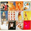 Vintage 1971 Playboy Magazines - 12 Issues