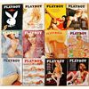 Vintage 1974 Playboy Magazines. - 12 Issues