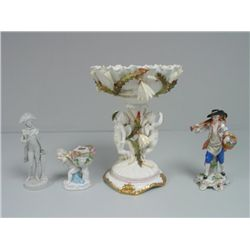 Group lot of 4 porcelains