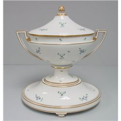 Vienna 3 piece covered tureen on stand