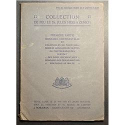 Auction Catalogue J. Schulman (Amsterdam) 1910, Collection Dr. Jules Meili (Zurich) Continental & Co