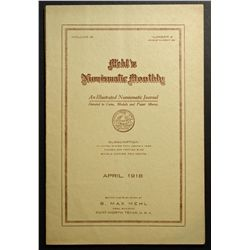 Mehl's Numismatic Monthly; an Illustrated Numismatic Journal Devoted to Coins, Medals and Paper Mone