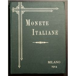 Monete Italiane, catalogue of Italian Coin collection sold in Milano 1914, large amount of picture m