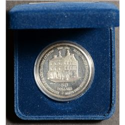 1994 50 Dollars Silver coin commemoration the 125th Anniversary of Eaton, redeemable for $50 at the