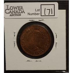 Cent 1859, Narrow 9, Repunched 9 number 2, G-4, cleaned.