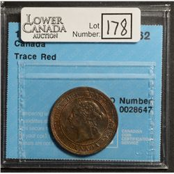 Cent 1890H, CCCS MS-62; Trace Red.