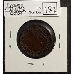 Cent 1891 VF-20, Small Date, Large Leaves, Obverse 3.