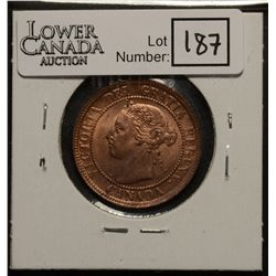 Cent 1895 MS-63, Red & Brown.