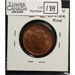 Cent 1899 MS-62, Red & Brown.
