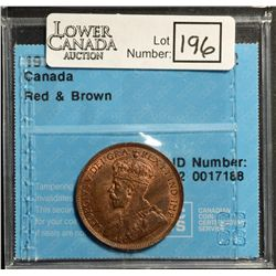 Cent 1914, CCCS MS-62; Red & Brown.