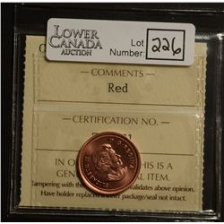 Cent 2005, ICCS MS-67; Red.