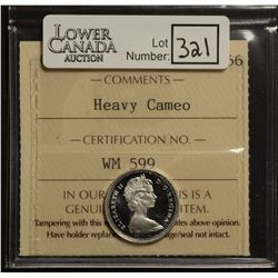 10 Cents 1965, ICCS PL-66; Heavy Cameo.