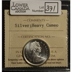 25 Cents 1968, ICCS MS-66; Silver, Heavy Cameo.
