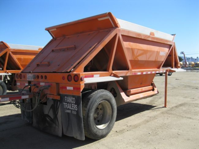 2006 Ranco LW11-205 Belly Dump Trailer