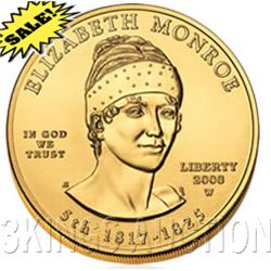 First Spouse 2008 Elizabeth Monroe Uncirculated
