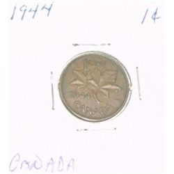 1944 CANADA 1 CENT PENNY *RARE NICE CANADIAN PENNY*!!