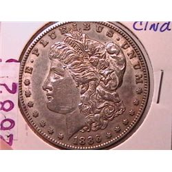 1886-S Morgan Dollar XF45