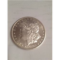 1882 BU MS-63 MORGAN SILVER DOLLAR