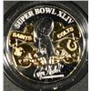 OFFICIAL SUPER BOWL XLIV GAME COIN