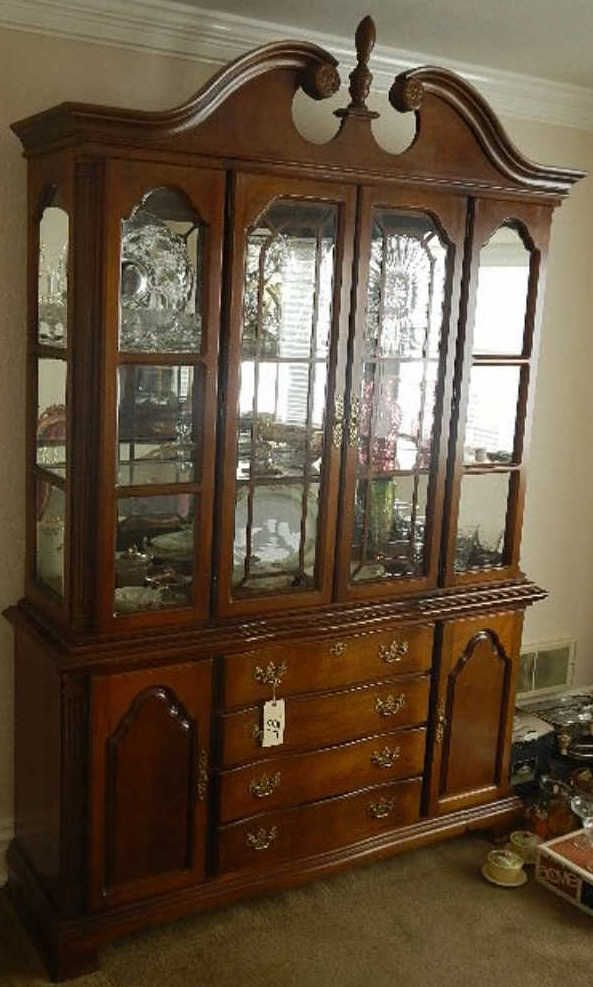 Dixie China Cabinet Lighted